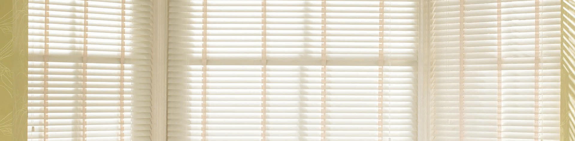 Discovery Blinds and Shutters Wooden Wide Slat Venetian